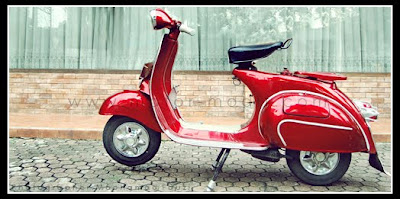Air Brush Classic Vespa Modification