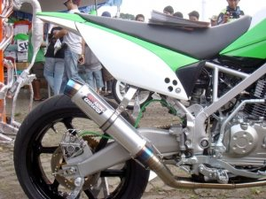 Kawasaki Klx 150 Picture Modification And Video Modif Motor