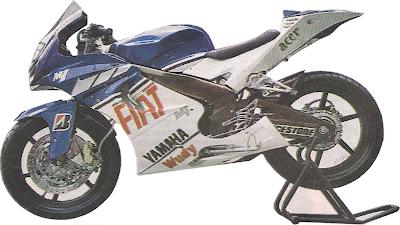 Kawasaki Ninja Like Yamaha YZR M1 Modify
