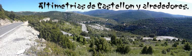 Altimetrias de Castellon y alrededores