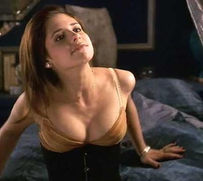 Sarah Gellar nude