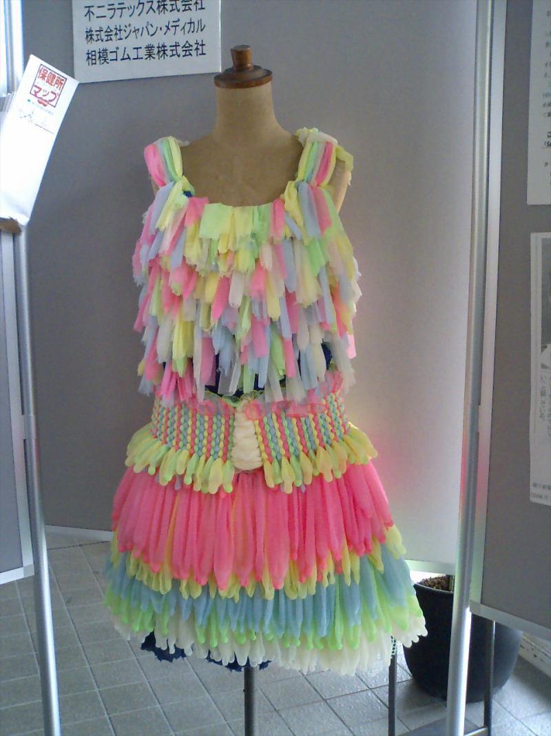 Платье из подручного материала своими руками фото