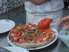 A pizza vencedora