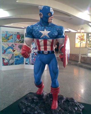 Marvel Superhéroes, valencia, hulk spiderman, capitán américa, ironman