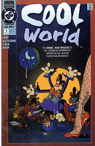 Cool World, Una rubia entre dos mundos, kim basinger, ralp bakshi, brad pitt