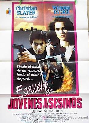 Escuela de jóvenes asesinos, Christian Slater, Winona Ryder,