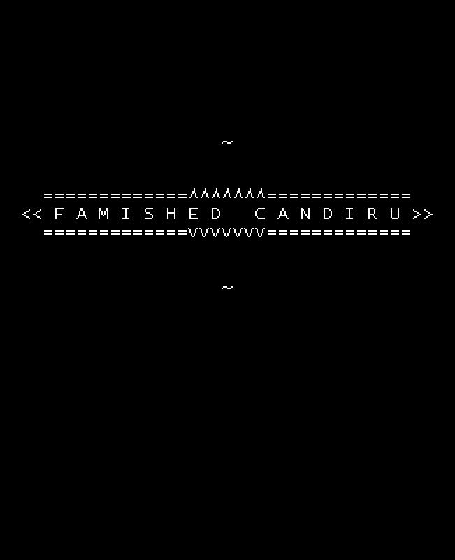 FAMISHED CANDIRU