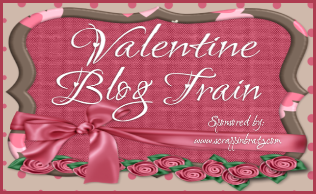 Valentine Blog Train