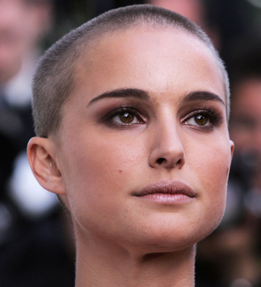 Bold or just Bald ? NATALIE PORTMAN