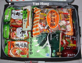 A Suitcase Of South Korean Stuffs