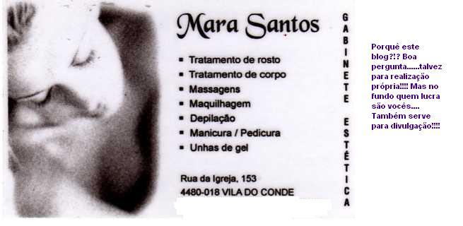 Mara Santos - Gabinete de estética