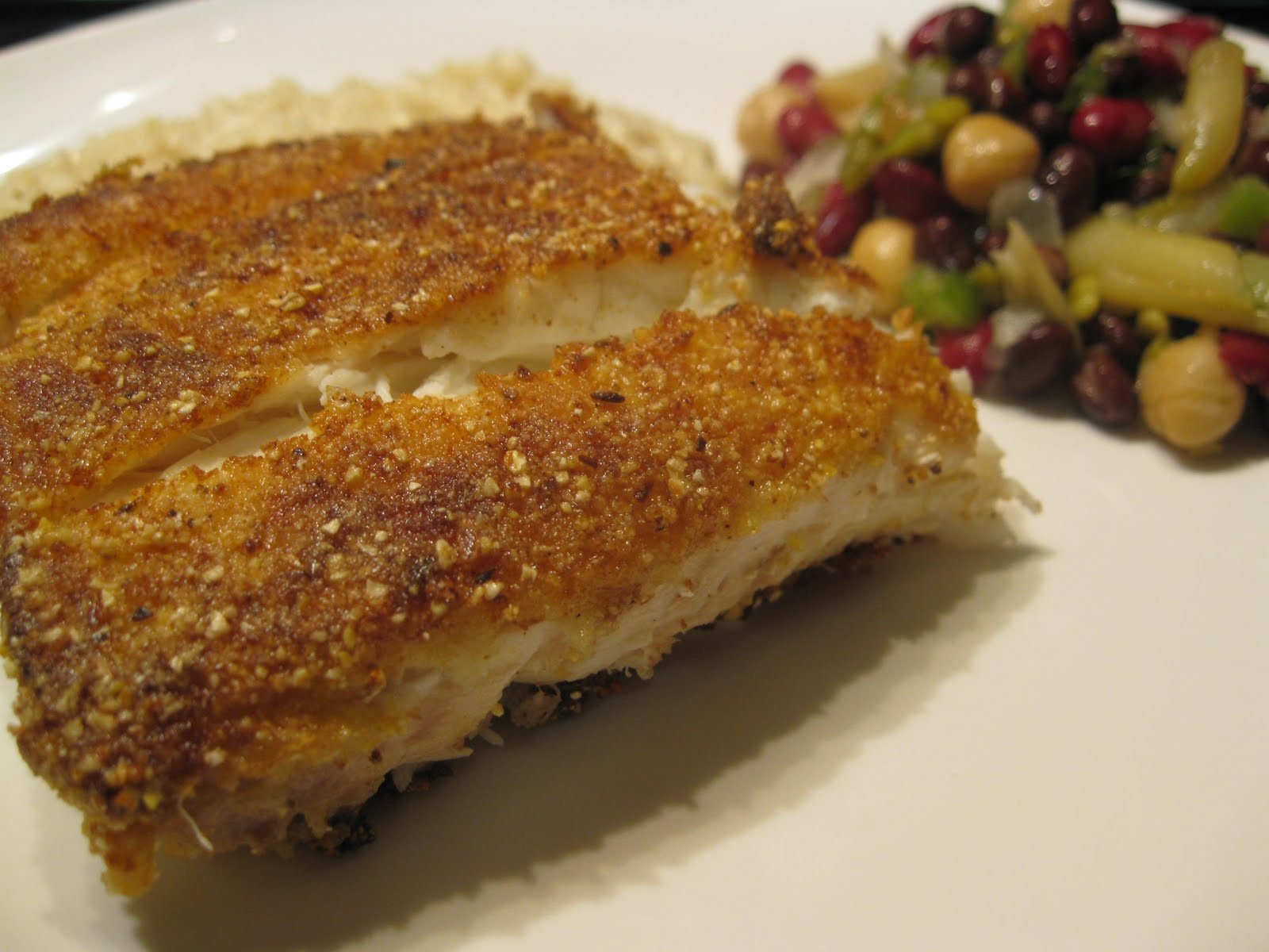Fatback and foie gras golden cornmeal crusted quick fry for Cornmeal fried fish