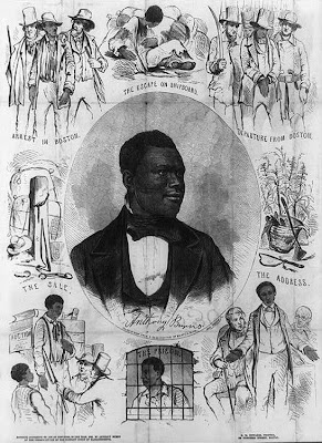 Anthony Burns the Fugitive Slave Act of 1850