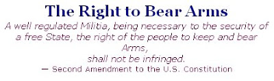 the right of the people to keep and bear arms.