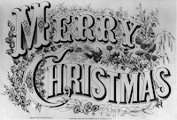 Currier & Ives Merry Christmas