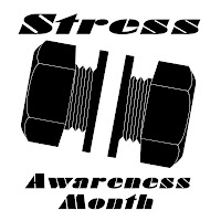 Stress Awareness Month, the American Forces Information Service.