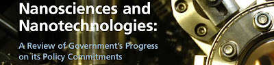 CST Report: 'Nanoscience and Nanotechnologies: A Review of Government's Progress on its Policy Commitments'