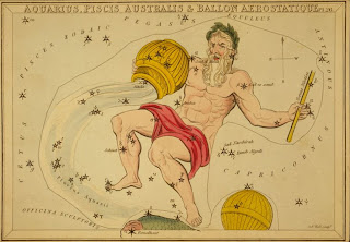 Astrological Sign Aquarius, Credit Line: Library of Congress, Prints & Photographs Division, [reproduction number, LC-USZC4-10072]