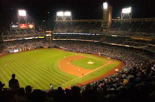 San Diego Padres Photo by: Pvt. Charlie Chavez USMC