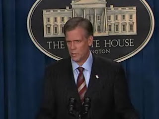 White House Press Secretary Tony Snow, vidcap from 05/22/07