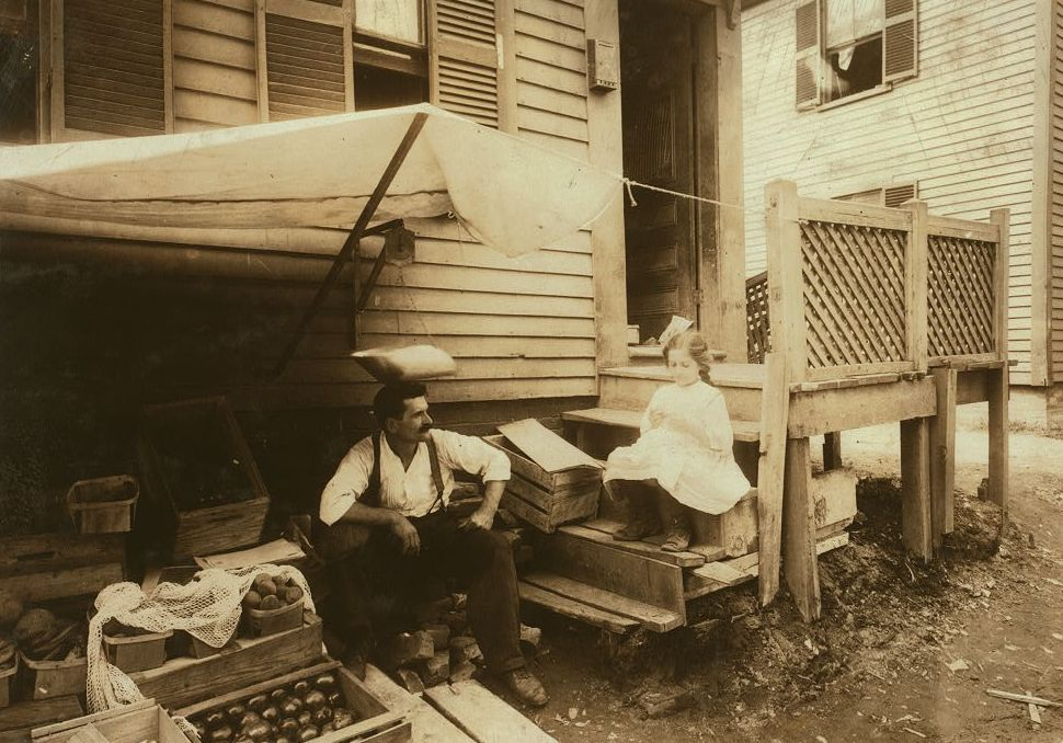 Home and fruit stand of the Cavicchio family