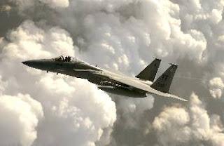 F-15 Eagle, U.S. Air Force photo by Tech. Sgt. Ben Bloker