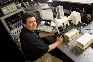 David Carroll, associate professor of physics at Wake Forest University in Winston-Salem, N.C. is director of the school's Center for Nanotechnology and Molecular Materials, where recent research breakthroughs led to the formation of two start-up companies, FiberCell and PlexiLight, to commercialize new nanotechnologies.
