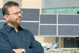 Caption: NJIT researchers develop inexpensive, easy process to produce solar panels. Credit: New Jersey Institute of Technology, Usage Restrictions: None.