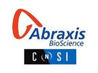 UCLA's California NanoSystems Institute, Abraxis BioScience Logo