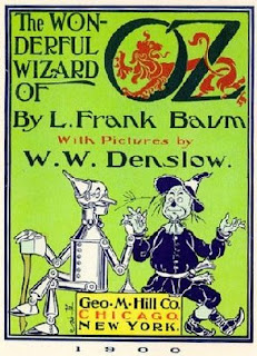 Wizard of Oz Cover ClipArt Image