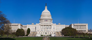 The United States Capitol Building, released into the public domain by its author, Noclip at the wikipedia project.