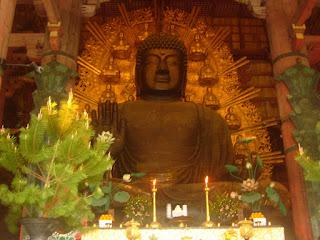 Todai-ji Temple's Great Buddha Hall in Nara