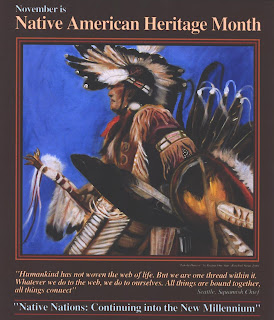 Native American Heritage Month, Credit: U.S. Geological Survey, Department of the Interior/USGS, U.S. Geological Survey/photo by Regina One Star.