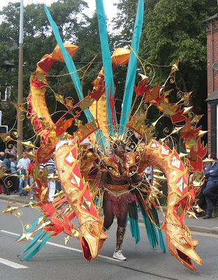 Mardi Gras Carnival Procession
