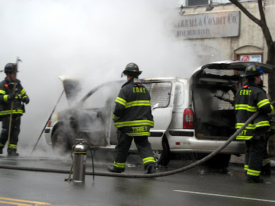 New York City Firemen in Action