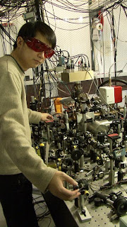 James Chou with NIST Logic Clock