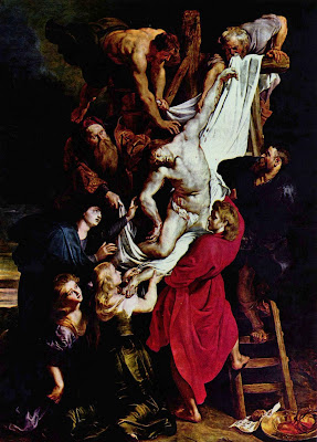 The Descent from the Cross Peter Paul Rubens