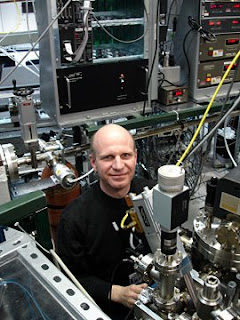 Johannes Lehmann at the National Synchrotron Light Source at Brookhaven National Laboratory.