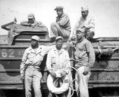 Black Troops at Iwo Jima
