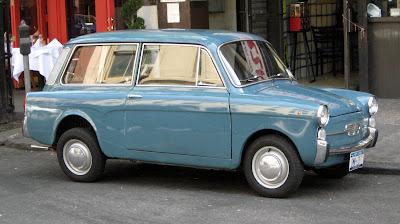 The Fiat 500 cinquecento