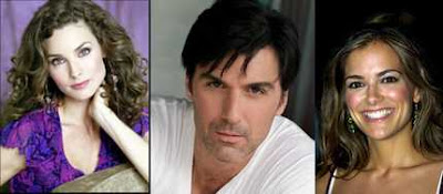 Alicia Minshew [Kendall Hart Slater] Vincent Irizarry [Doctor David Hayward] Rebecca Budig [Greenlee Smythe]