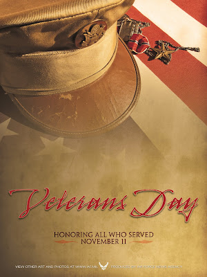 Veterans Day Poster Honoring