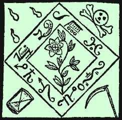 Black Pullet Grimoire Amulet