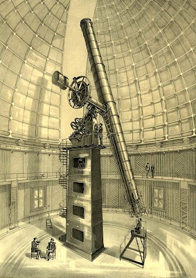Sketch of the Lick Refractor