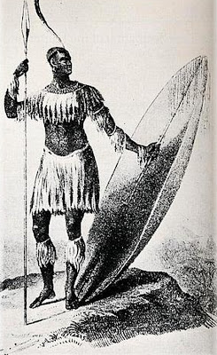 Shaka, king of the Zulu