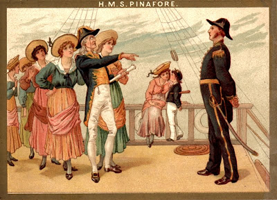 H.M.S. Pinafore Souvenir Programme