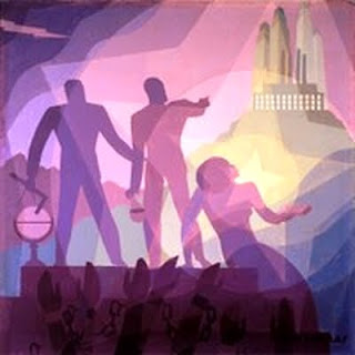 Aspiration (1936) by Aaron Douglas