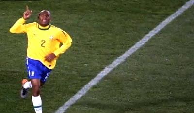 Maicon Brazil 2010 FIFA World Cup