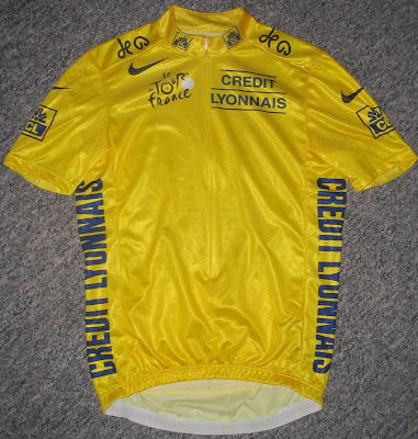 Tour de France maillot jaune yellow jersey