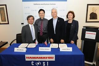 CNSI-Hamamatsu signing ceremony